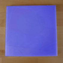 Tagliere in polietilene quadrato 40X40 cm blu - spessore 10 mm