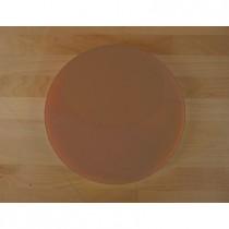 Tagliere in polietilene rotondo diametro 30 cm marrone - spessore 80 mm