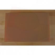 Tagliere in polietilene rettangolare 40X60 cm marrone - spessore 10 mm