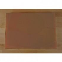 Tagliere in polietilene rettangolare 50X70 cm marrone - spessore 10 mm
