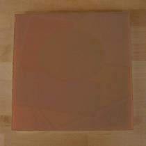 Tagliere in polietilene quadrato 60X60 cm marrone - spessore 40 mm