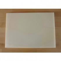Tagliere in polietilene rettangolare 50X70 cm bianco - spessore 10 mm