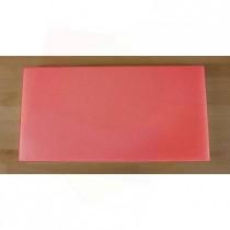 Tagliere in polietilene rettangolare 40X80 cm rosso - spessore 10 mm
