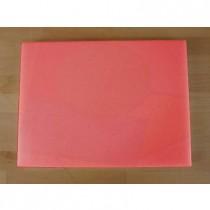Tagliere in polietilene rettangolare 30X40 cm rosso - spessore 80 mm