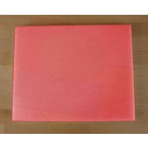 Tagliere in polietilene rettangolare 40X50 cm rosso - spessore 10 mm