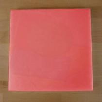 Tagliere in polietilene quadrato 40X40 cm rosso - spessore 10 mm