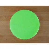 Tagliere in polietilene rotondo diametro 30 cm verde - spessore 80 mm
