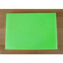 Tagliere in polietilene rettangolare 50X70 cm verde - spessore 10 mm