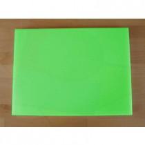 Tagliere in polietilene rettangolare 30X40 cm verde - spessore 80 mm