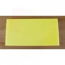 Tagliere in polietilene rettangolare 40X80 cm giallo - spessore 10 mm