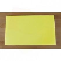 Tagliere in polietilene rettangolare 30X50 cm giallo - spessore 10 mm