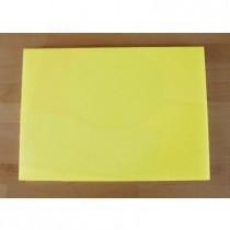 Tagliere in polietilene rettangolare 50X70 cm giallo - spessore 10 mm
