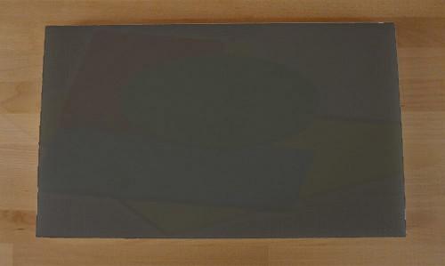 Tagliere in polietilene rettangolare 30X50 cm nero effetto ardesia - spessore 25 mm
