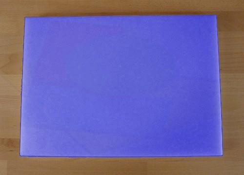 Tagliere in polietilene rettangolare 50X70 cm blu - spessore 15 mm