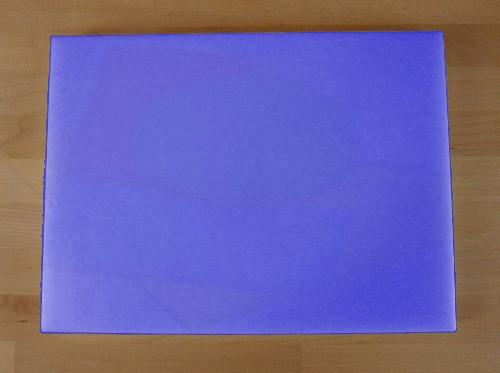 Tagliere in polietilene rettangolare 30X40 cm blu - spessore 40 mm