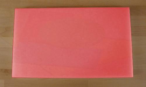 Tagliere in polietilene rettangolare 30X50 cm rosso - spessore 60 mm