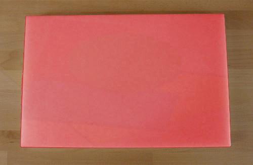 Tagliere in polietilene rettangolare 40X60 cm rosso - spessore 10 mm
