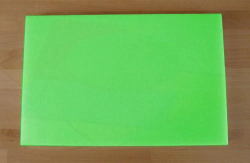 Tagliere in polietilene rettangolare 40X60 cm verde - spessore 15 mm