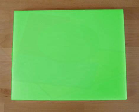 Tagliere in polietilene rettangolare 40X50 cm verde - spessore 40 mm