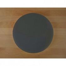 Tagliere in polietilene rotondo diametro 30 cm nero effetto ardesia - spessore 10 mm