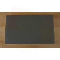 Tagliere in polietilene rettangolare 30X50 cm nero effetto ardesia - spessore 10 mm