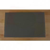 Tagliere in polietilene rettangolare 50X80 cm nero effetto ardesia - spessore 60 mm