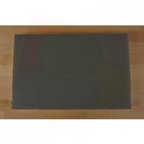 Tagliere in polietilene rettangolare 40X60 cm nero effetto ardesia - spessore 25 mm