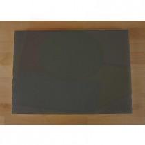 Tagliere in polietilene rettangolare 50X70 cm nero effetto ardesia - spessore 10 mm