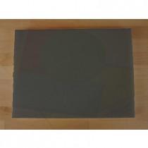 Tagliere in polietilene rettangolare 30X40 cm nero effetto ardesia - spessore 10 mm