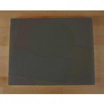 Tagliere in polietilene rettangolare 40X50 cm nero effetto ardesia - spessore 10 mm