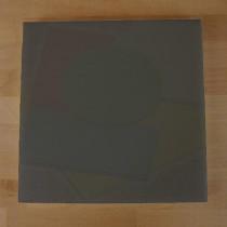 Tagliere in polietilene quadrato 40X40 cm nero effetto ardesia - spessore 10 mm