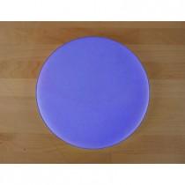 Tagliere in polietilene rotondo diametro 30 cm blu - spessore 30 mm