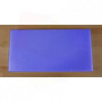 Tagliere in polietilene rettangolare 40X80 cm blu - spessore 10 mm