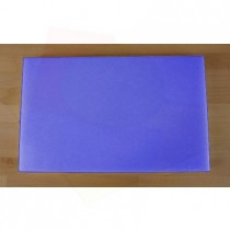 Tagliere in polietilene rettangolare 50X80 cm blu - spessore 10 mm