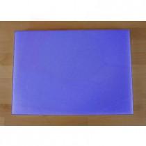 Tagliere in polietilene rettangolare 50X70 cm blu - spessore 10 mm