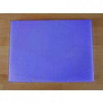 Tagliere in polietilene rettangolare 30X40 cm blu - spessore 50 mm