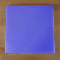 Tagliere in polietilene quadrato 50X50 cm blu - spessore 10 mm