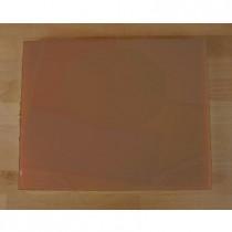 Tagliere in polietilene rettangolare 40X50 cm marrone - spessore 10 mm