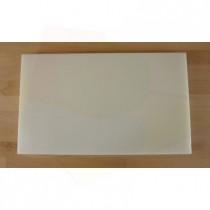 Tagliere in polietilene rettangolare 30X50 cm bianco - spessore 15 mm
