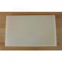 Tagliere in polietilene rettangolare 50X80 cm bianco - spessore 10 mm