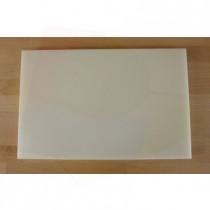 Tagliere in polietilene rettangolare 40X60 cm bianco - spessore 25 mm