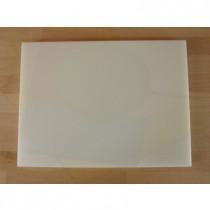Tagliere in polietilene rettangolare 30X40 cm bianco - spessore 30 mm