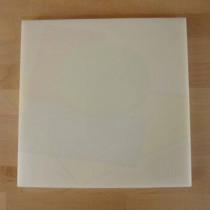 Tagliere in polietilene quadrato 40X40 cm bianco - spessore 10 mm