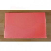 Tagliere in polietilene rettangolare 50X80 cm rosso - spessore 60 mm