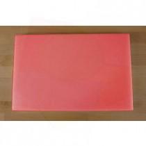 Tagliere in polietilene rettangolare 40X60 cm rosso - spessore 25 mm