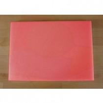 Tagliere in polietilene rettangolare 50X70 cm rosso - spessore 10 mm