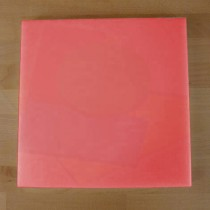 Tagliere in polietilene quadrato 50X50 cm rosso - spessore 10 mm