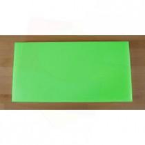 Tagliere in polietilene rettangolare 40X80 cm verde - spessore 25 mm