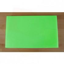 Tagliere in polietilene rettangolare 50X80 cm verde - spessore 10 mm