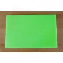 Tagliere in polietilene rettangolare 40X60 cm verde - spessore 25 mm